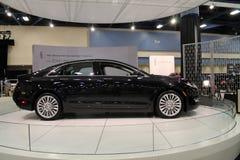Sedan americano novo na feira automóvel Imagens de Stock