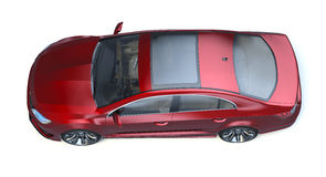 Sedan 3d concept car Stock Images