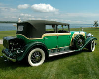 Sedan 1930 de Cadillac Fleetwood Foto de Stock