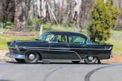 Sedan 1958 real de Chrysler Fotografia de Stock Royalty Free