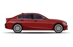 Sedan realistische auto stock illustratie