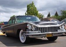 Sedan restaurado clássico com grade ornamentado Fotografia de Stock