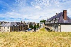 Sedan town in France Royalty Free Stock Photos