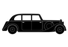 Sedan - vintage model of car Royalty Free Stock Image