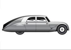 Sedan - vintage model of car Stock Photo