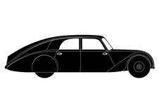 Sedan - vintage model of car Royalty Free Stock Photos