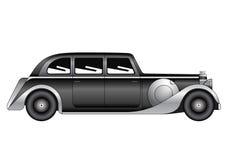 Sedan - vintage model Royalty Free Stock Photography