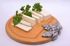 sedano del formaggio di ricotta Fotografia Stock Libera da Diritti