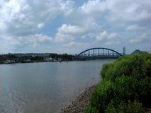 Sedayulawas most i schronienie Obrazy Royalty Free