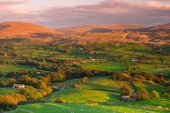 Sedbergh ist eine Kleinstadt und eine Zivilgemeinde in Cumbria, England Stockbilder