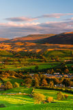 Sedbergh - small town at sunset Stock Images