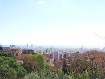 sedd barcelona guellpark royaltyfri fotografi
