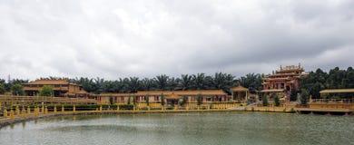 Sedd Hock Yeen, Konfucius tempel, Chemor, Malaysia royaltyfri foto