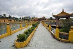 Sedd Hock Yeen, Konfucius tempel, Chemor, Malaysia royaltyfria foton