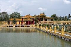 Sedd Hock Yeen, Konfucius tempel, Chemor, Malaysia royaltyfri fotografi