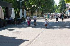 Sedd sommar Jurmala Fotografering för Bildbyråer