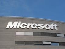 Sede da Microsoft Corporation Foto de Stock Royalty Free