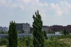 Sede de Krupp en el horizonte foto de archivo libre de regalías