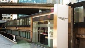 Sede de Nissan Design Europe en Reino Unido almacen de video