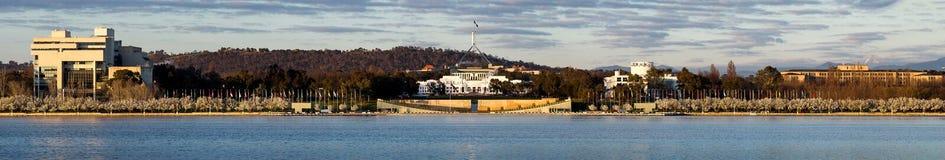 Sede del parlamento Australia Fotografie Stock