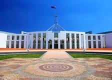 Sede del parlamento australiana a Canberra fotografia stock libera da diritti