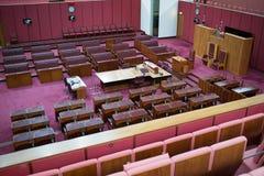 Sede del parlamento australiana del senato Fotografie Stock