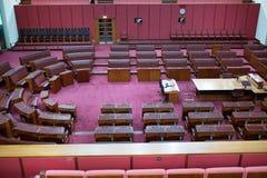 Sede del parlamento australiana del senato Immagine Stock Libera da Diritti