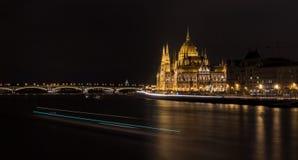 Sede del parlamento Budapest Fotografia Stock