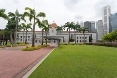 Sede del parlamento a Singapore Fotografie Stock Libere da Diritti