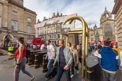 Sede della frangia di Edimburgo Fotografia Stock Libera da Diritti