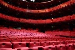 Sede della riunione del teatro Fotografia Stock