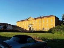 Sede della riunione di lusso di cerimonia nuziale della villa Fotografia Stock Libera da Diritti