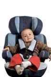 Sede di automobile del bambino fotografia stock libera da diritti