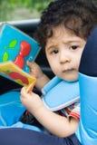 Sede di automobile del bambino fotografie stock libere da diritti