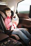 Sede di automobile di lusso del bambino per sicurezza Immagine Stock