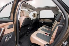 Sede di automobile posteriore Fotografia Stock Libera da Diritti