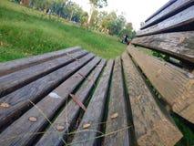 Sede di legno Fotografie Stock Libere da Diritti