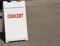 Sede di musica di concerto immagine stock libera da diritti