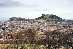Sede Edinburgh del Arthur Fotografie Stock
