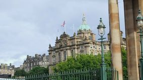 Sede sociale di Lloyds Banking Group, Edimburgo archivi video