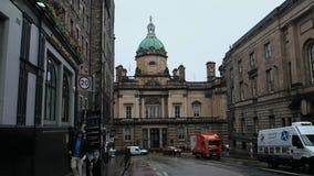 Sede sociale di Lloyds Banking Group, Scozia video d archivio