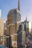 Sede sociale di Morgan Stanley New York Fotografie Stock