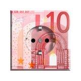 Sedel för Euro 10 Arkivfoton