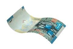 1 sedel för kuwaitisk dinar Arkivbild