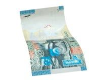 1 sedel för kuwaitisk dinar Arkivfoto