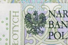 Sedel 100 PLN Royaltyfri Fotografi