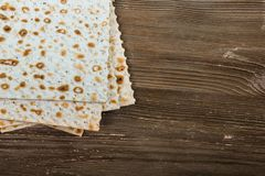 Seder. Pesah matzah matzo bread matzos matzoh Royalty Free Stock Photography