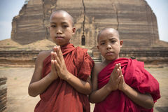 Sedere Birmania di kala di Ming fotografia stock libera da diritti