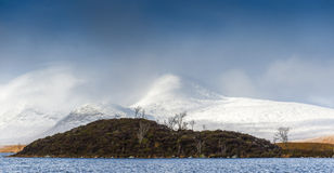 Sedere del lago, altopiani scozzesi Immagine Stock