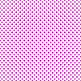 Sedere rosa e bianche di ripetizione di Dot Abstract Design Tile Pattern di Polka illustrazione di stock